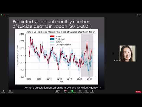 Video recording of the presentation by Prof. Dr. UEDA Michiko